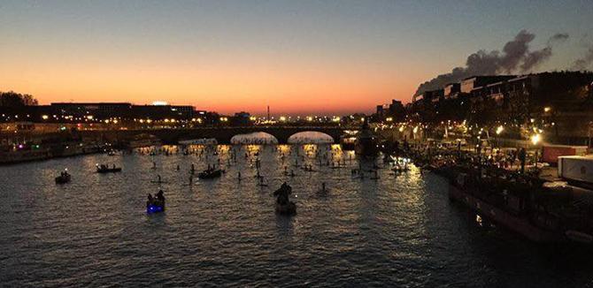 Paris SUP Crossing 2016