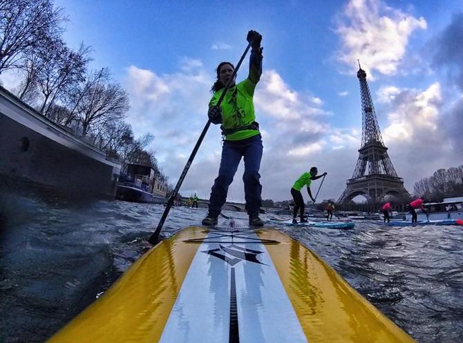 8th Paris SUP Crossing