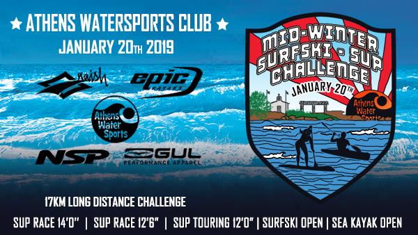 Mid-Winter Surfski-SUP Challgenge