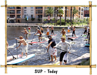 stand up paddle history